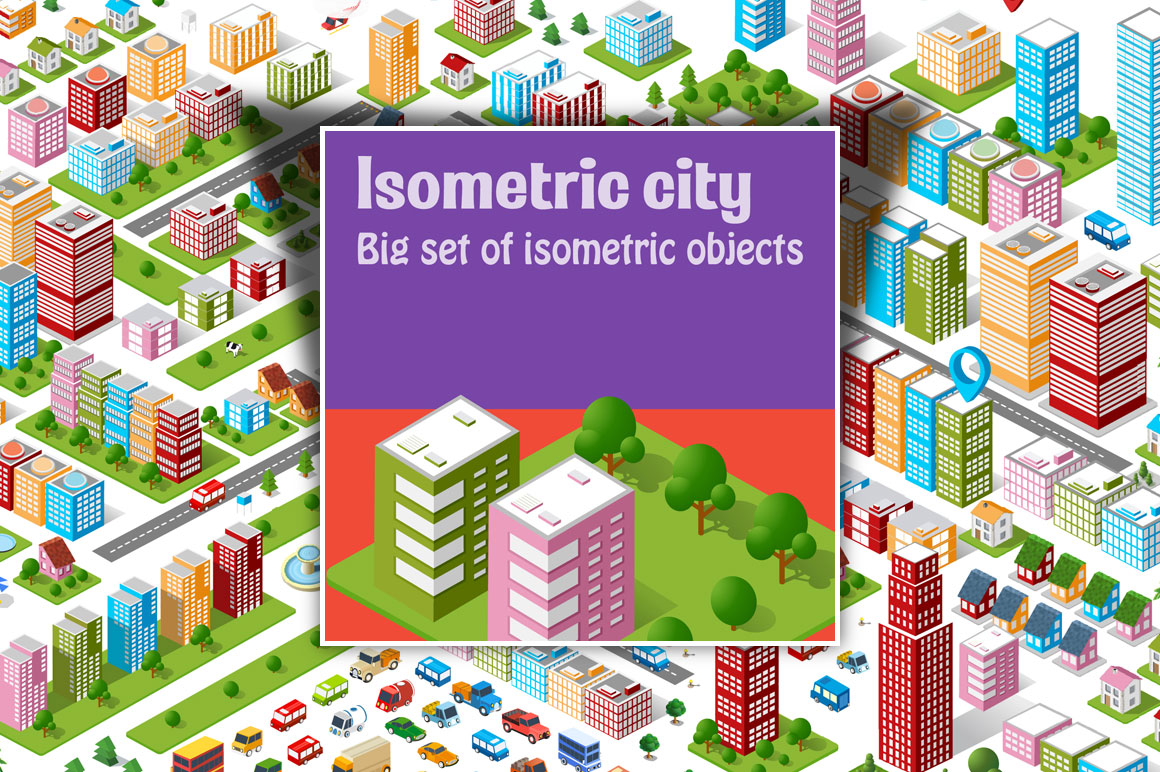 300+ Top-Quality Professions Vectors in a Isometric Style - Only $12