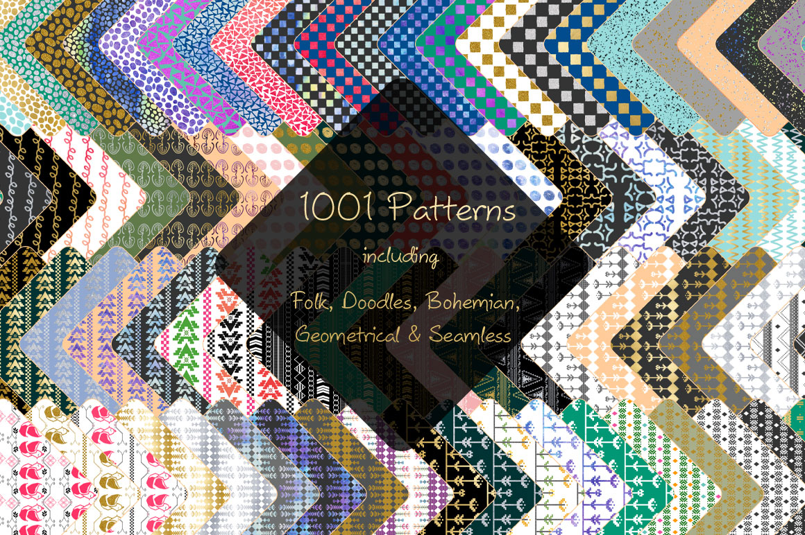 1001 Patterns Bundle - Just $20