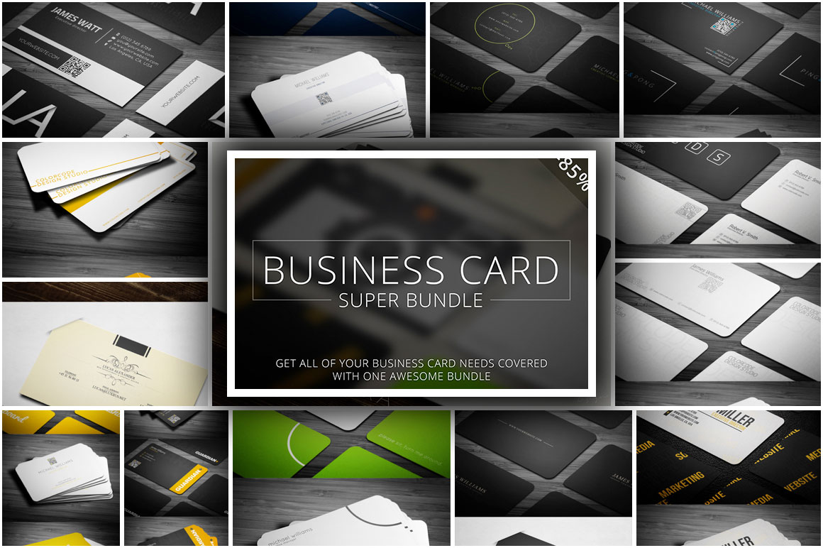 Business Cards Super Bundle