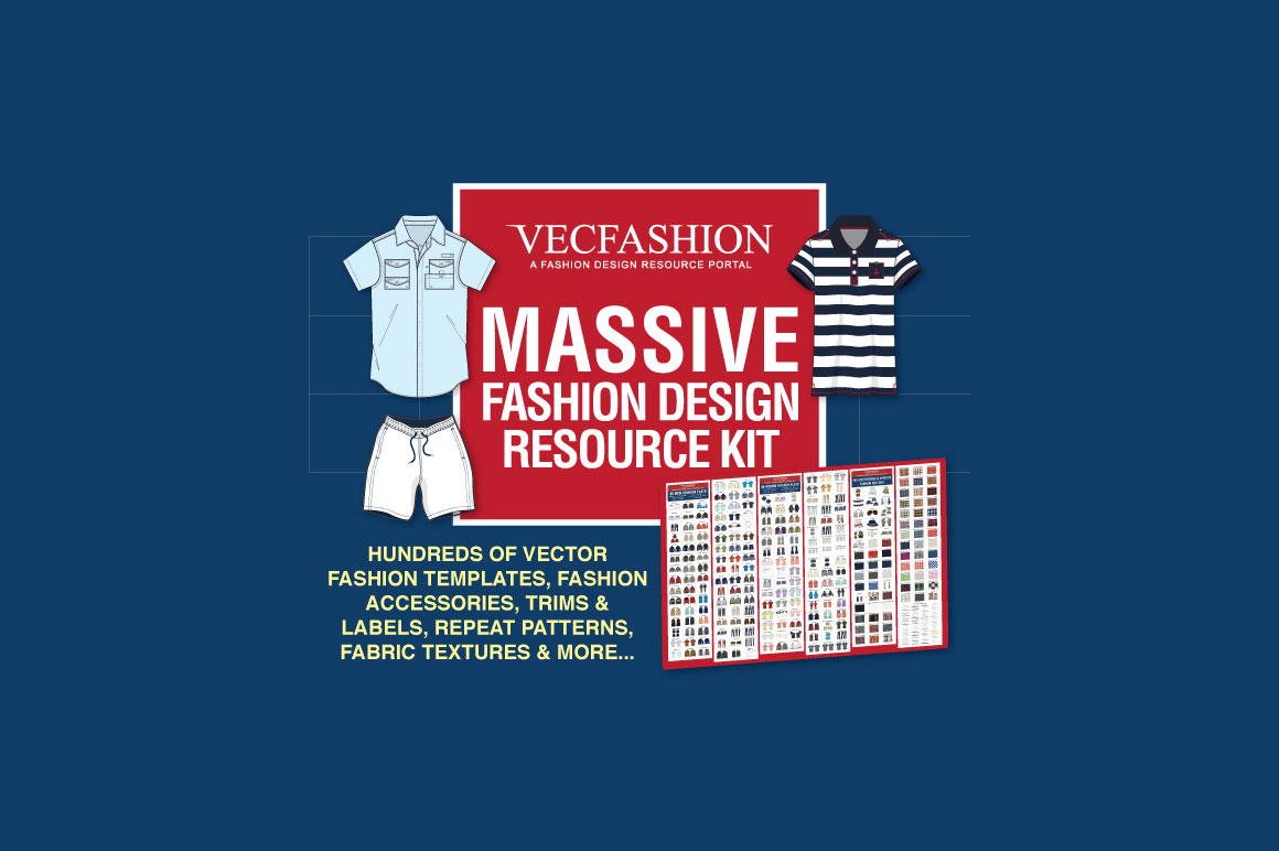 Massive Fashion Design Resource Kit