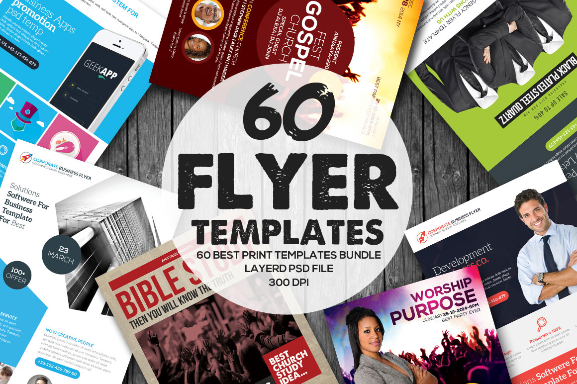 60 Amazing Event Flyer Templates
