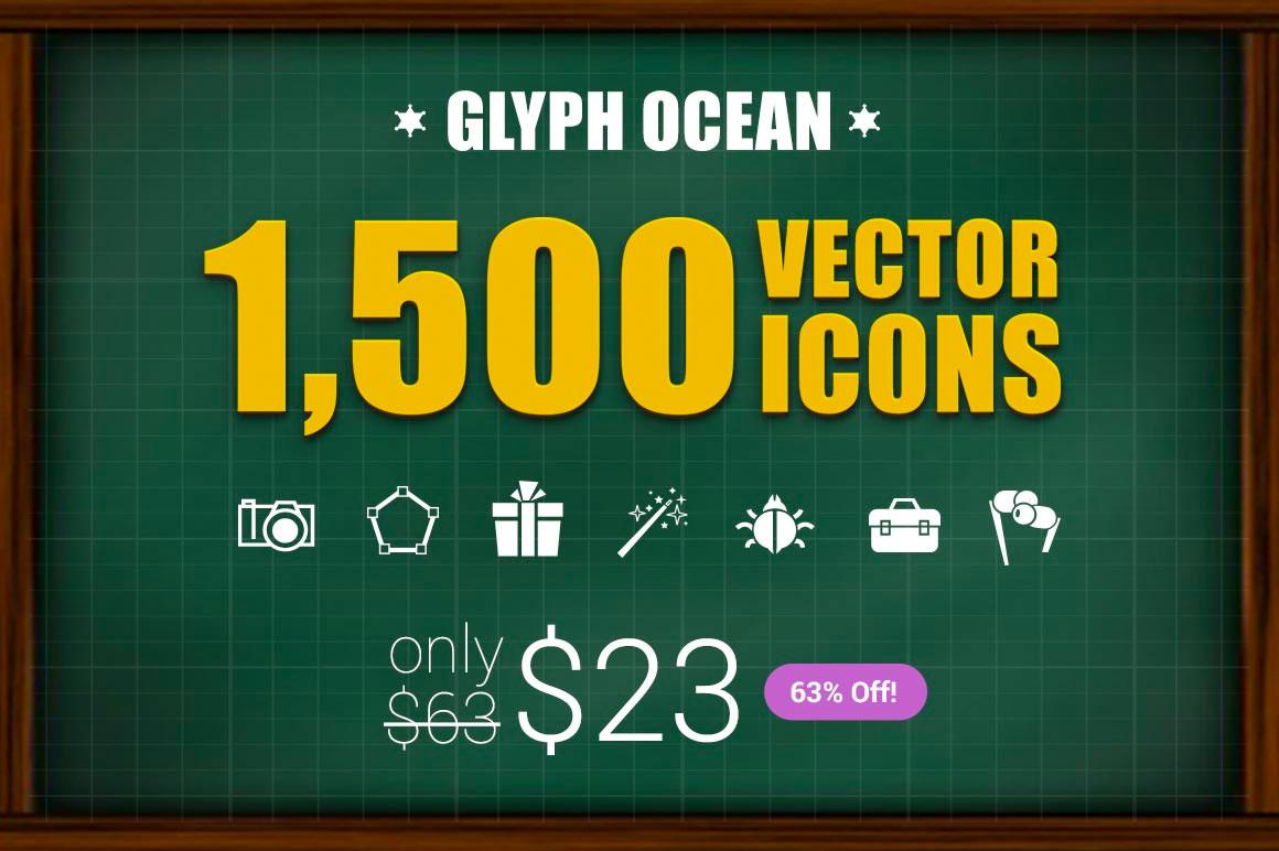 Huge Bundle - 1500 Vector Icons