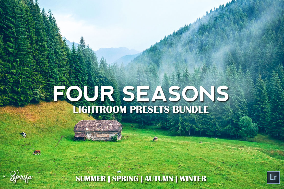 4 Seasons Lightroom Presets - Get 200 Lightroom Presets for only $15