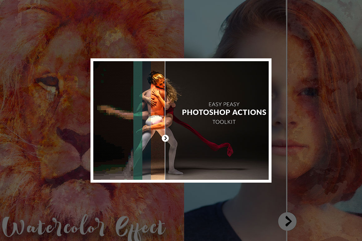 Get 29 amazing Photoshop Actions