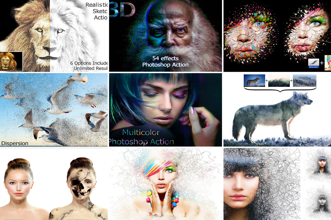 Creative Photo Effects with Extended license only $9