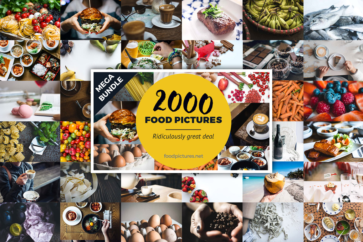 2000 Amazing Food Pictures for only $19