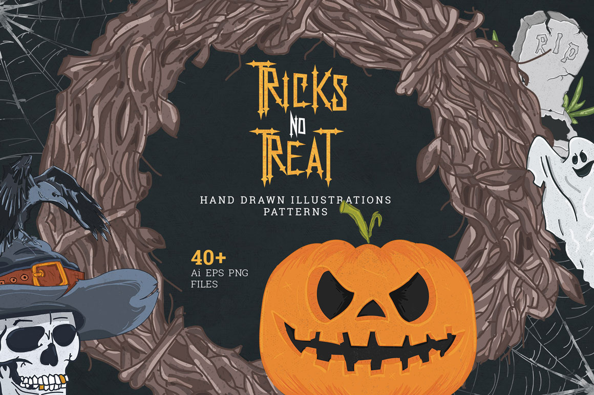 Tricks no Treat - Halloween Set