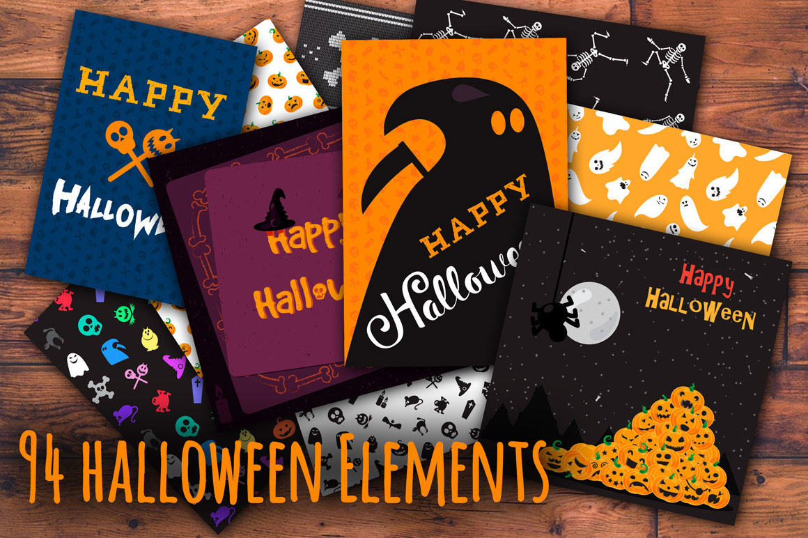 Vector Halloween Pack for only $9