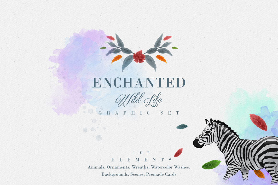 Enchanted Wild Life - Graphic Set