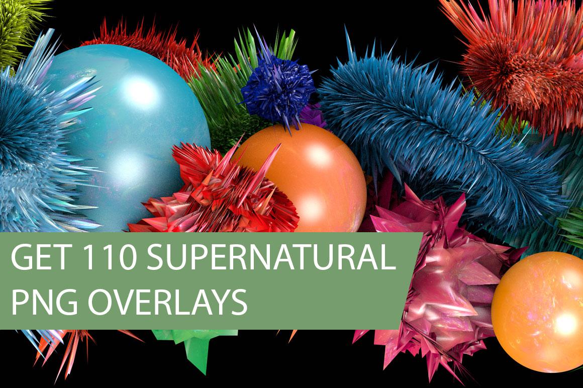 Get 110 Supernatural png Overlays