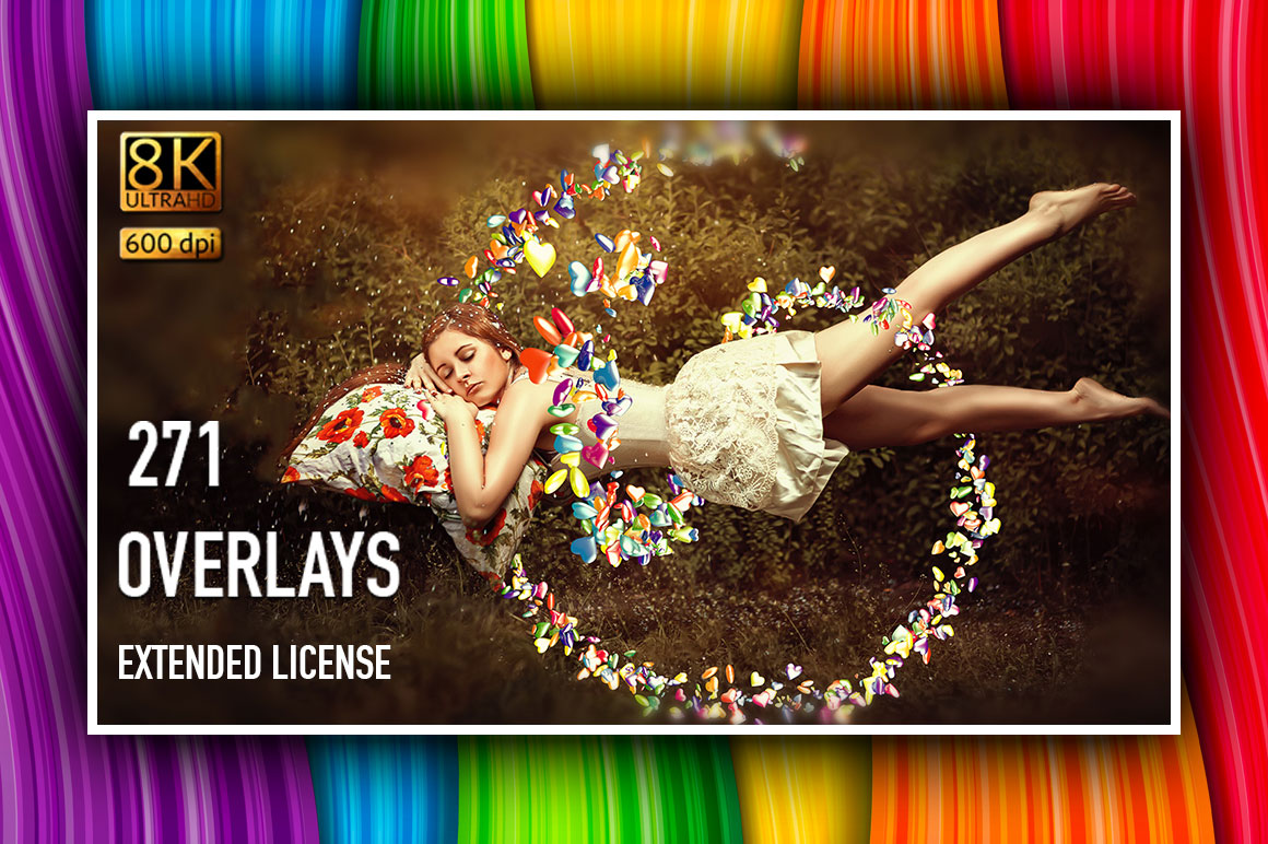 Spectacular Overlays Collection – Only $25