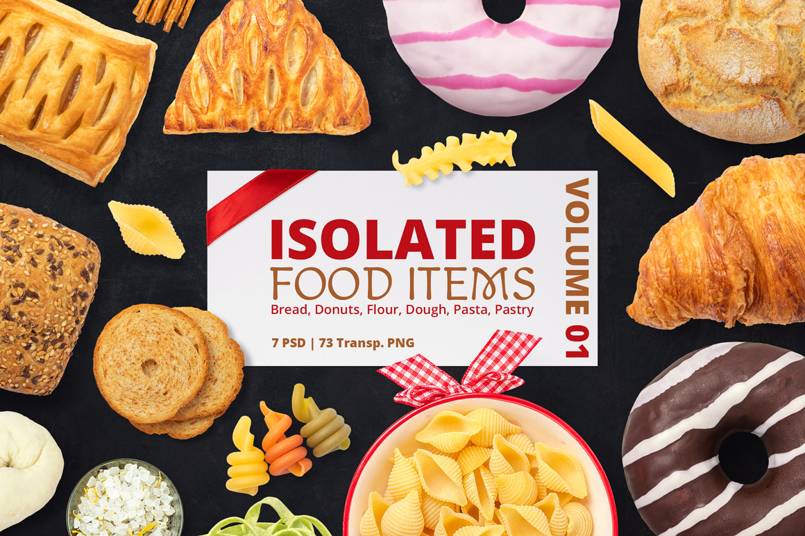 1000+ Isolated Food Items + Premade Scenes - Only $15