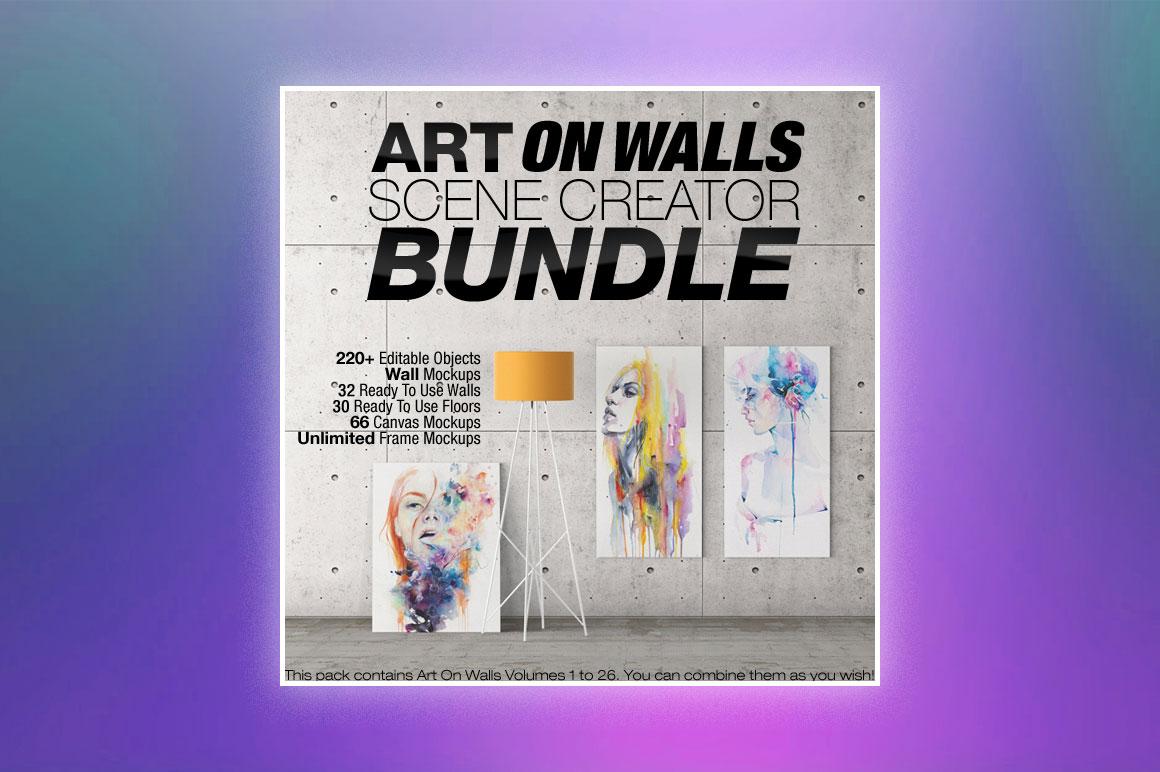 Art On Walls Scene Creator Mega Pack