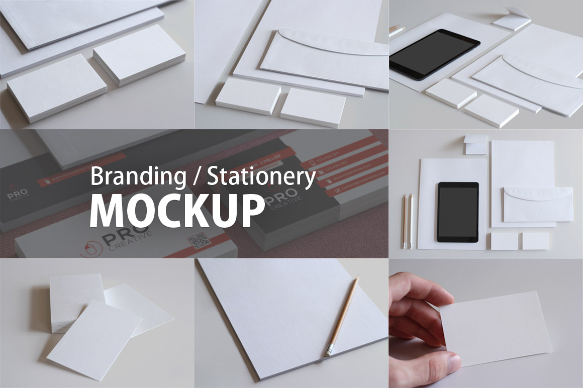 Branding Mockup Bundle for only $8