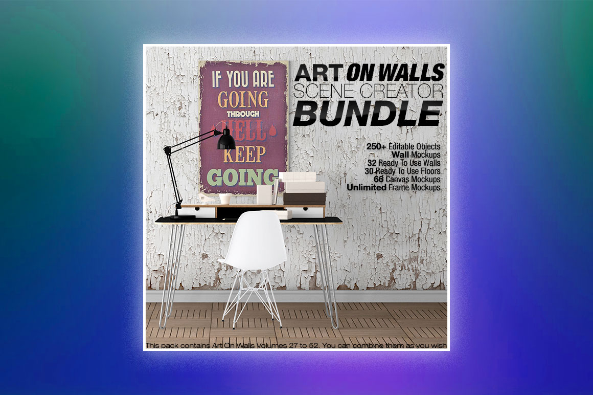 Art on walls bundle - Version 2