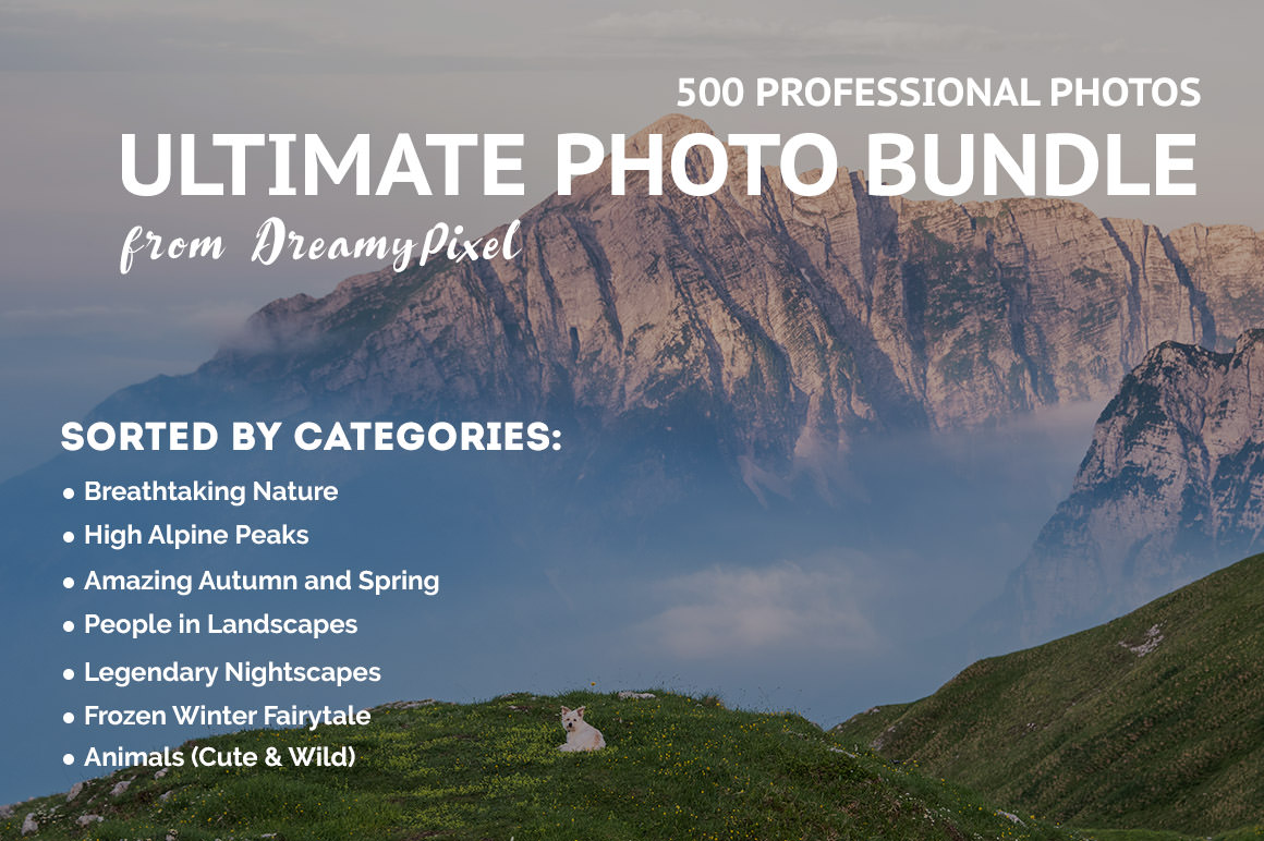 Ultimate Photo Bundle with 500+ Stock Images