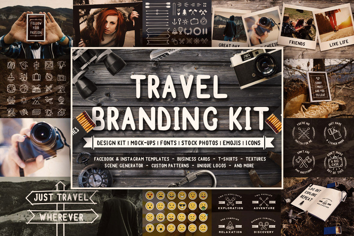 Full Travel Branding Kit