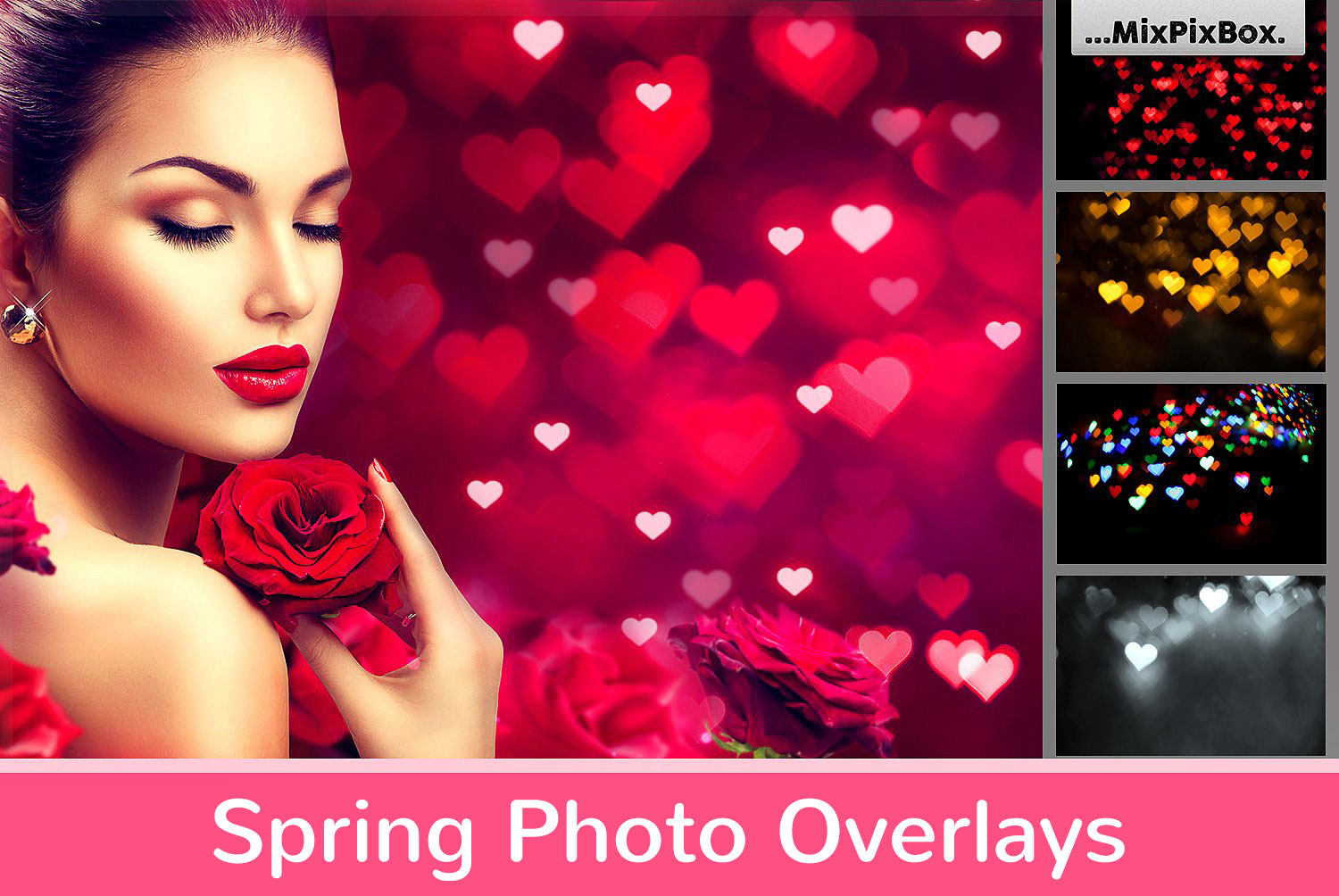 Spring Photo Overlays - 430 Amazing overlays for only $9