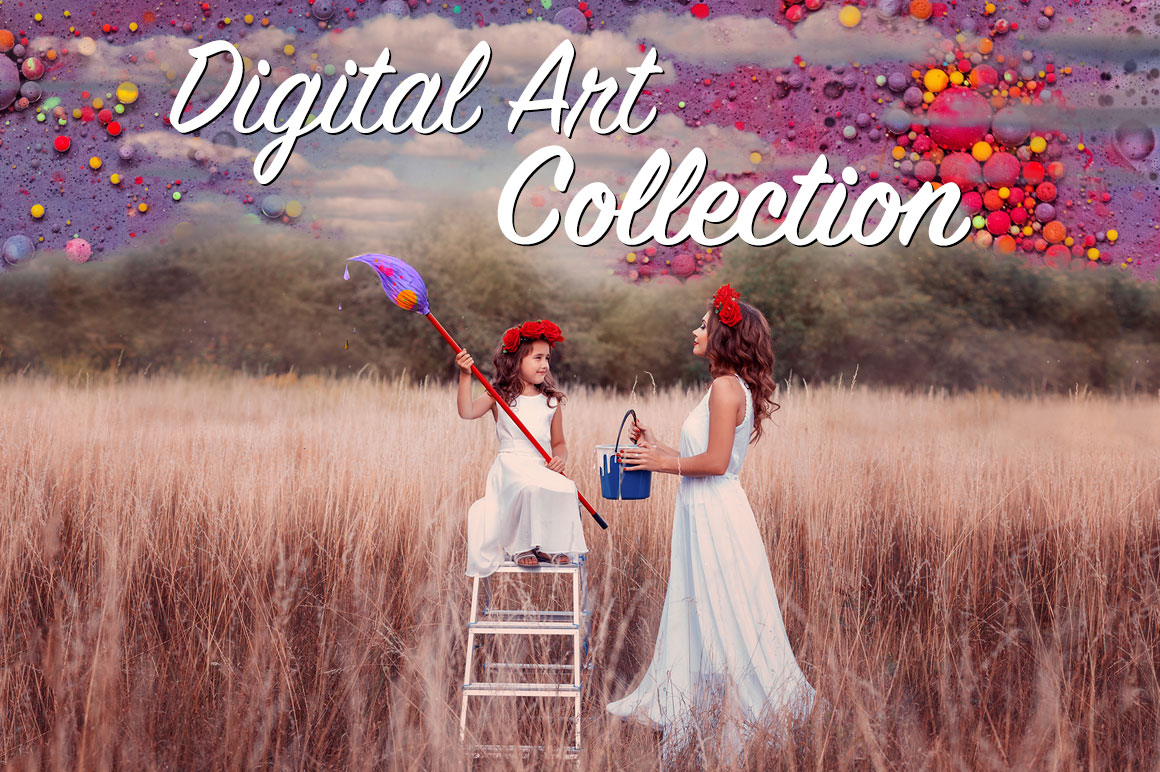 Digital art collection - Download 2084 overlays for only $13