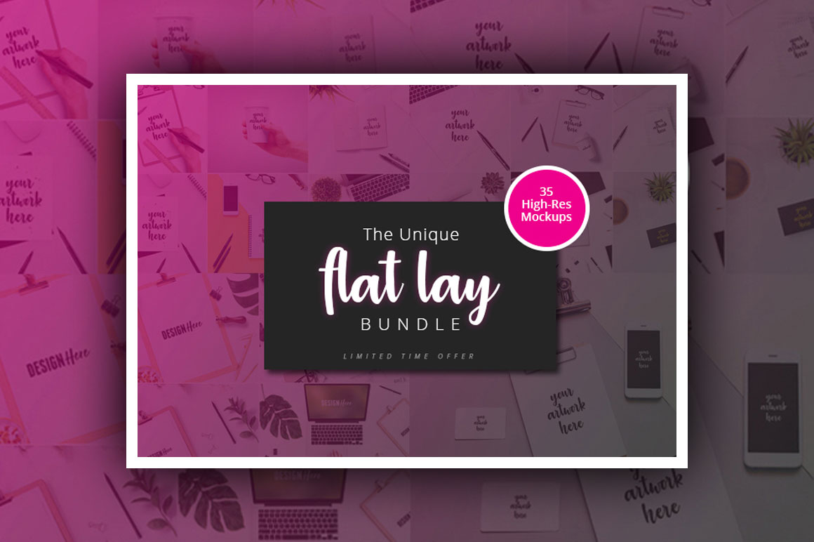 The Unique Flat Lay Bundle - Only $14