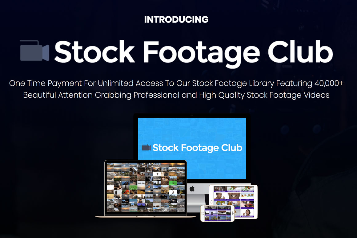 Stock Footage Club: Lifetime Access To 40K+ Professional Stock Videos