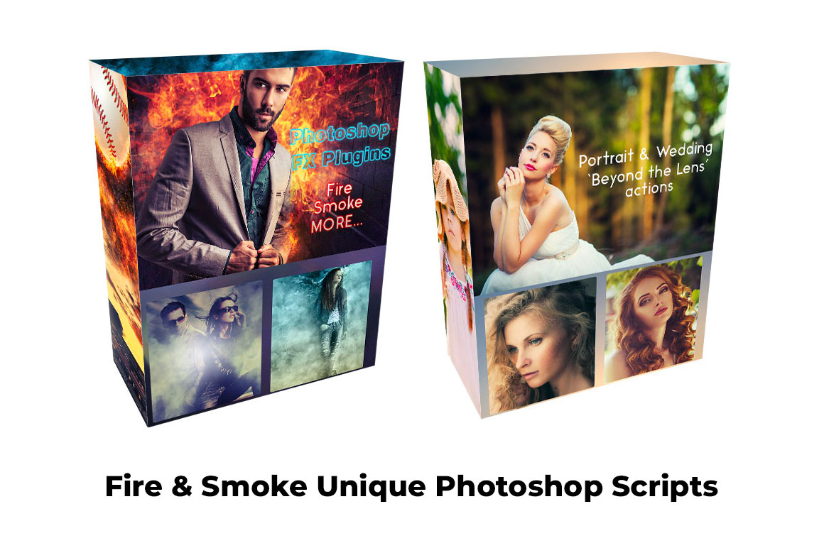 Fire & Smoke Unique Photoshop Scripts