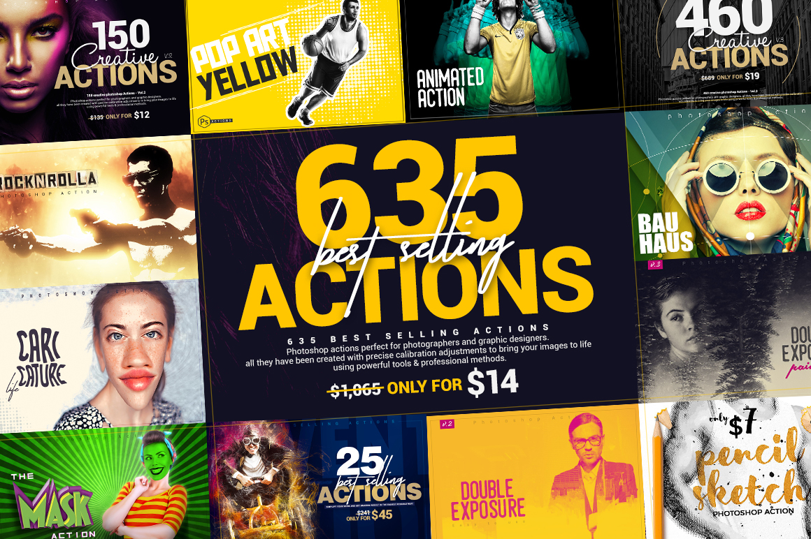 635 Bestselling Actions Bundle - Only $14