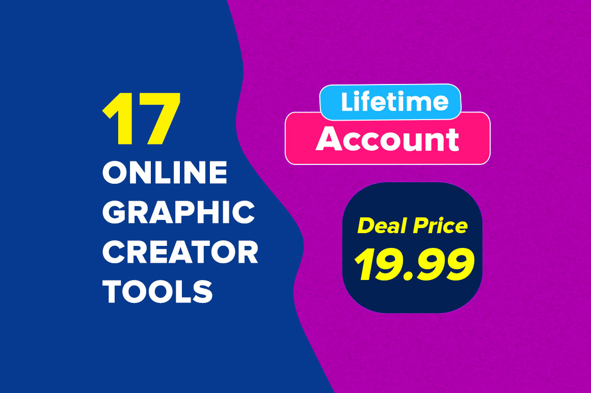 17 In 1 Cloud Based Graphics Creator Apps Mega Bundle (Lifetime Account)